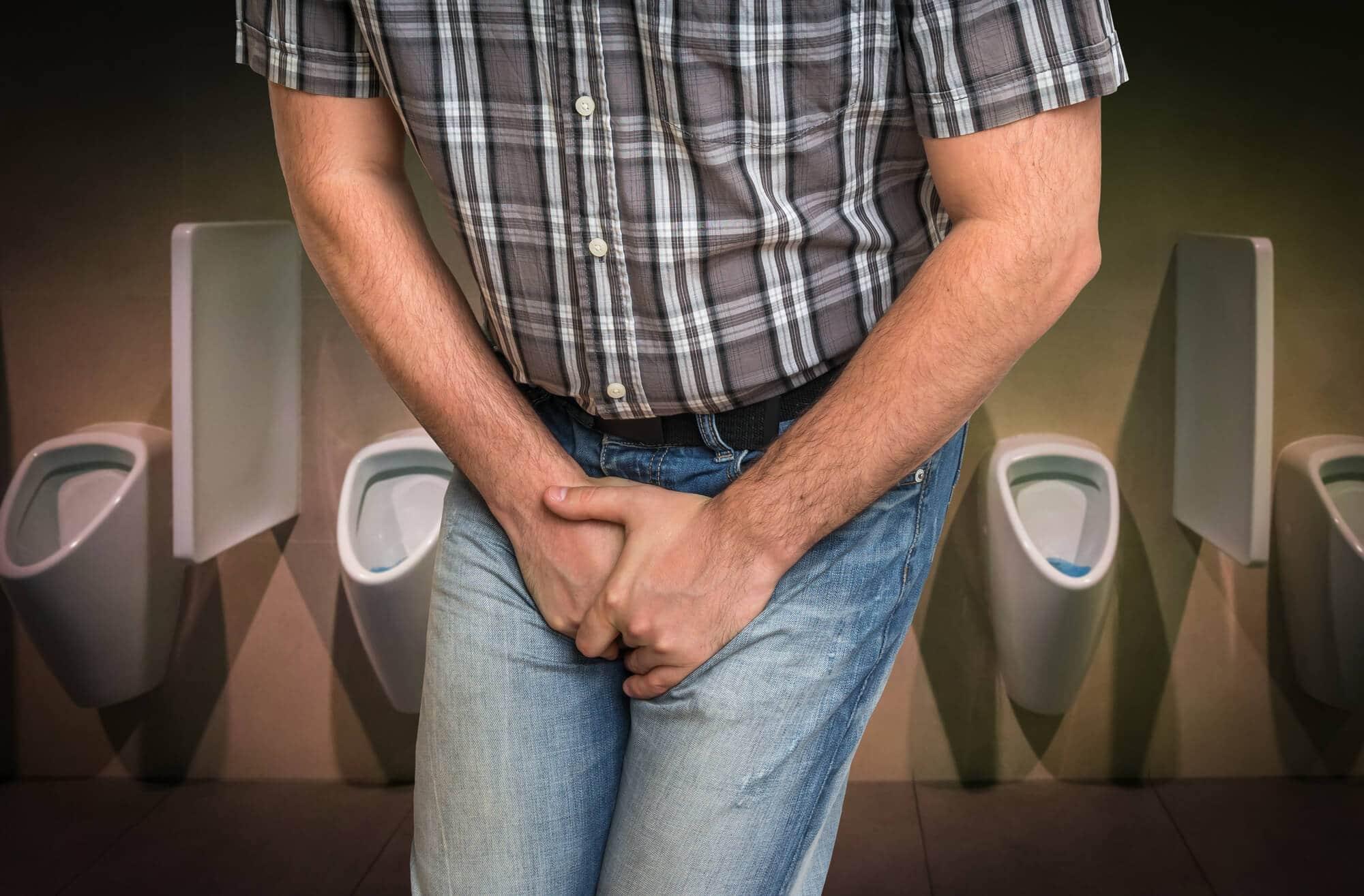 בריחת שתן בקרב גברים - כל מה שצריך לדעת