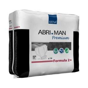 פדים סופגים לגבר Abri-Man מידה 2 כמות: 14 יח'